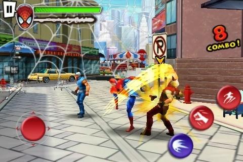 [JEU] SPIDERMAN - TOTAL MAYHEM HD : Beat'em all en 3D de Gameloft [Payant] Spider10