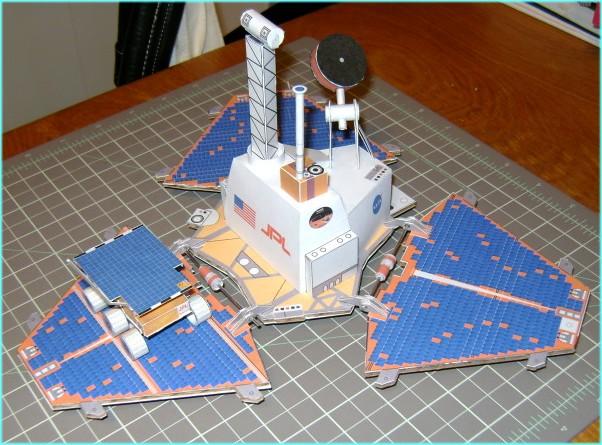 [maquette papier] Mars Pathfinder - rocky  & MSL Curiosity  ( au 1/12 ) Sagan10