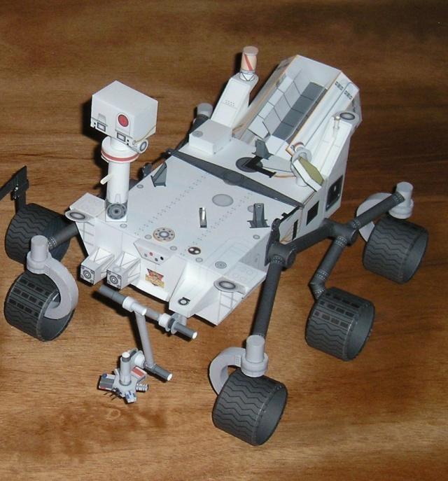 [maquette papier] Mars Pathfinder - rocky  & MSL Curiosity  ( au 1/12 ) Sans_t44