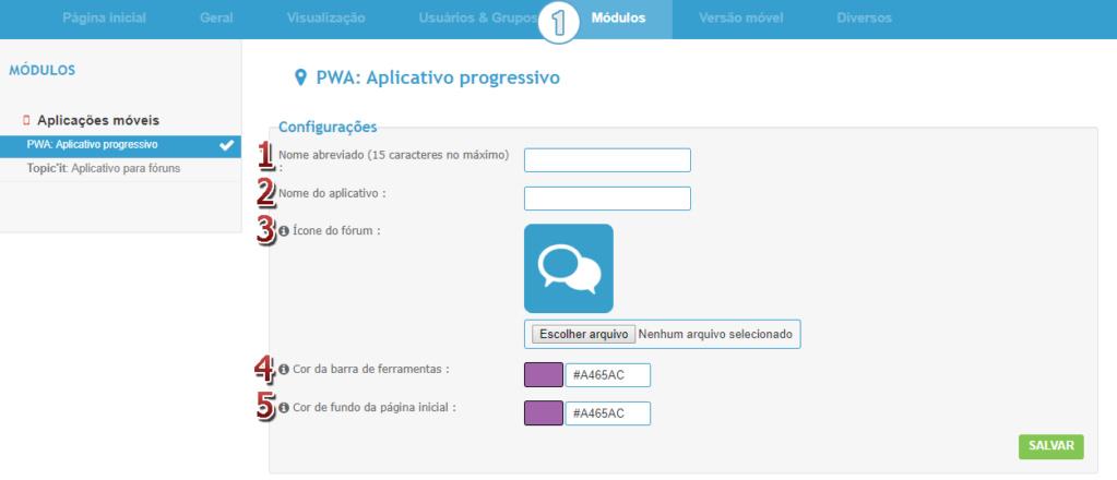 [FAQ] Configurar o progressive web app (PWA) no fórum Acp_pw10