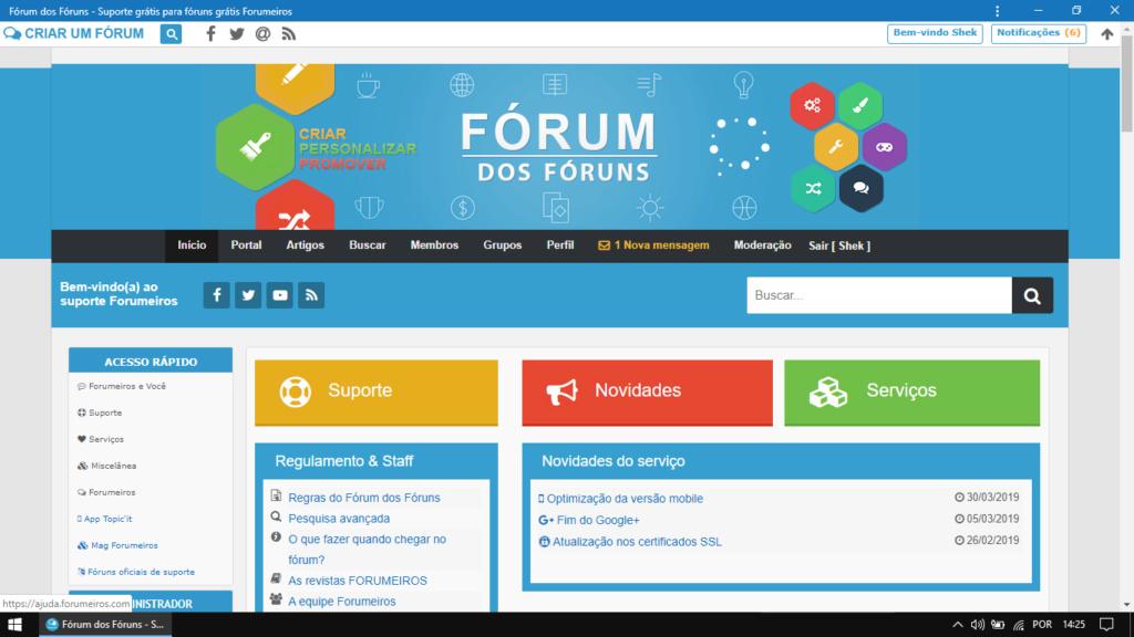 [FAQ] Configurar o progressive web app (PWA) no fórum Deskto11