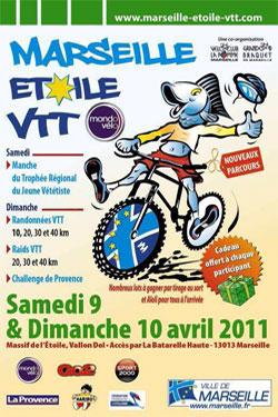 Le Marseille Étoile VTT Mondovélo 2011 Affich10