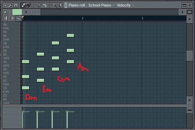 2nd Anvil studio tutorial Piano510