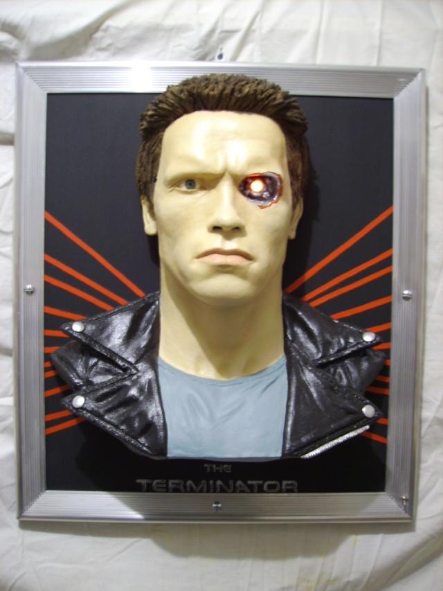 The terminator en tableau 3D Photo_29
