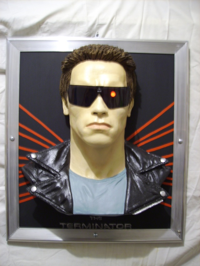 The terminator en tableau 3D Photo_30