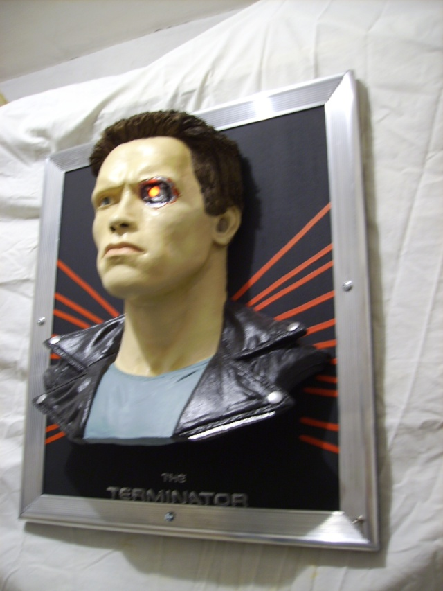 The terminator en tableau 3D Photo_33