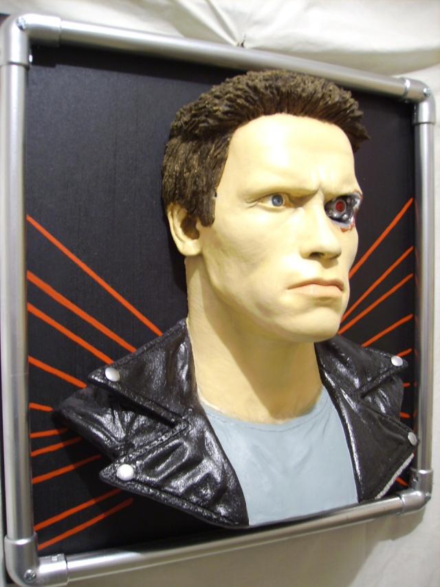 The terminator en tableau 3D Photo_37