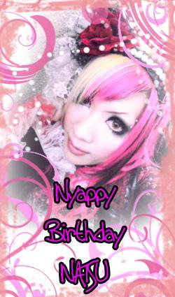 Feliz cumpleaños Natsu chan! :3 Paracu12