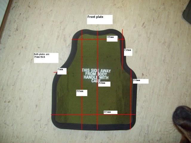 Plaques OSPREY BODY ARMOR Osprey10