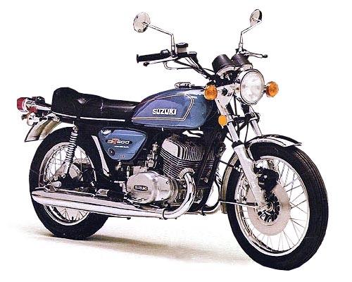 SUZUKI GT 500 : PETITE MERVEILLE 1976_g10