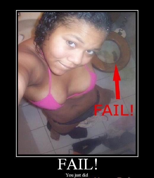 Hati-hati kalau self pic kat tandas......... Fail10
