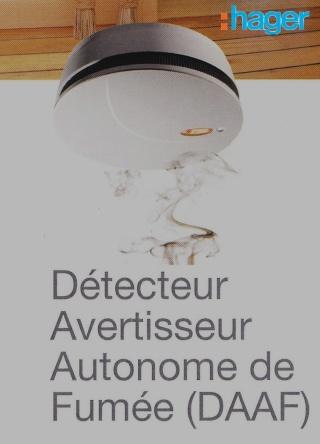 [VENTE] Avertisseur de fumée autonome HAGER Img11