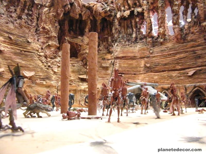réalisation de l'arena géonosis en entière  topic à suivre - Page 8 Dscf1519