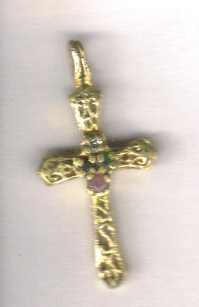 MAGNIFIQUE croix en or XVIIème !! Croixe10