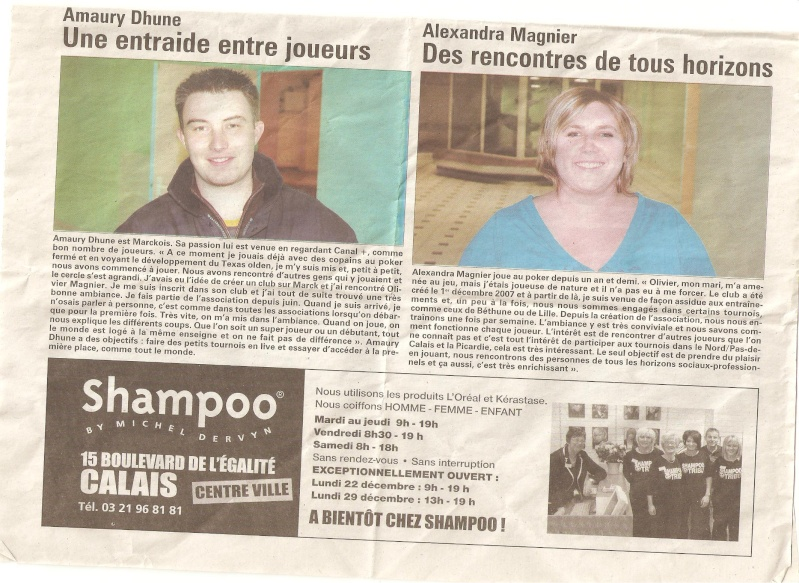 Article de presse Nord littoral Cop11