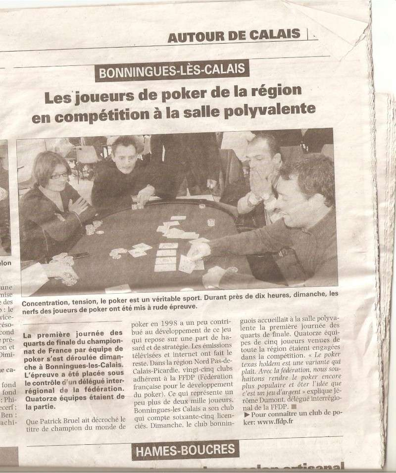 Article de presse Nord littoral Cop210
