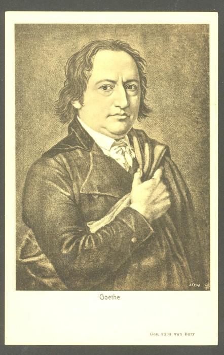 Goethe  -  Ansichten und Handschriften 0112