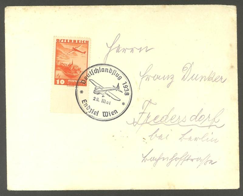 Ältere Flugpost aus Wien 0116