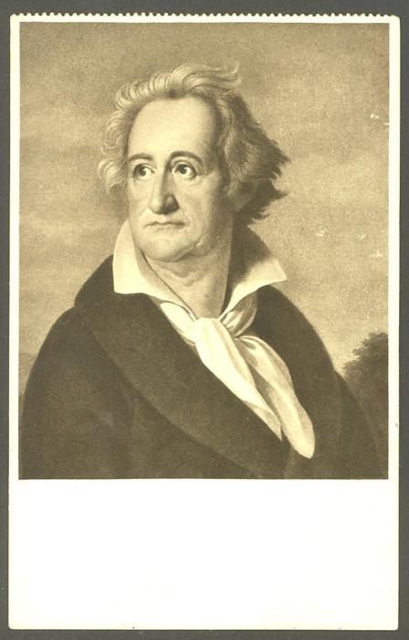 Goethe  -  Ansichten und Handschriften 0411