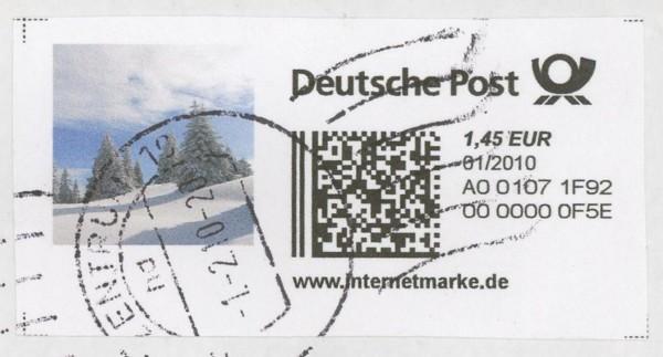 Internetmarken aus Deutschland 0412