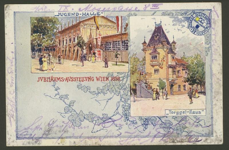 Halbamtliche Ganzsachenpostkarten  -  Gelegenheitsausgaben 1898_j10
