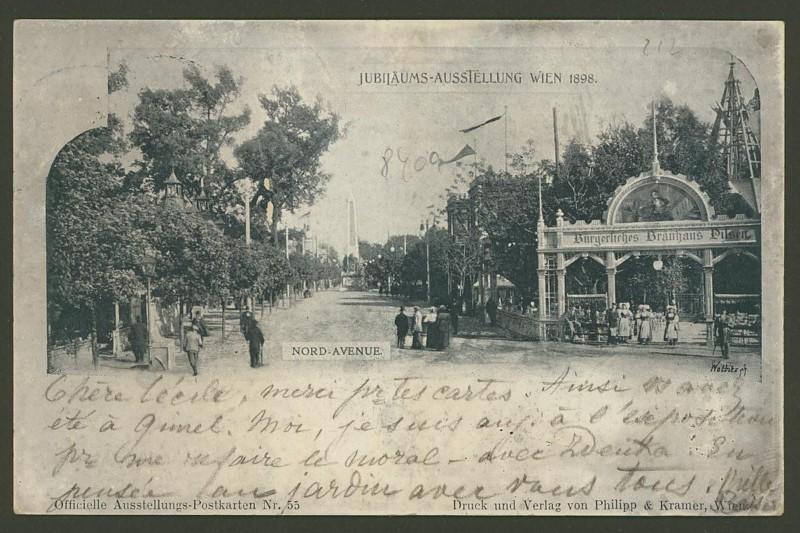 Halbamtliche Ganzsachenpostkarten  -  Gelegenheitsausgaben 1898_n10