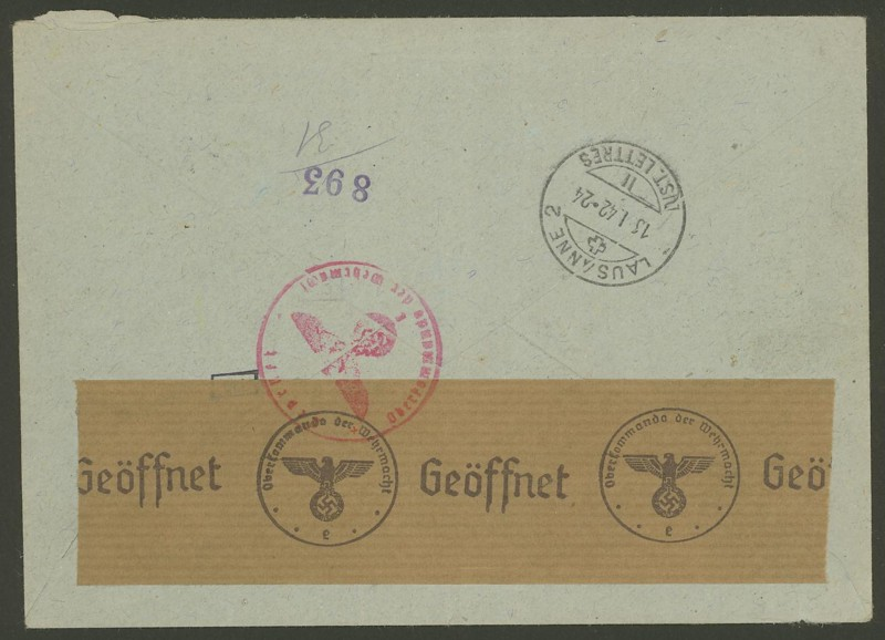 Tag der Briefmarke 1942_w11