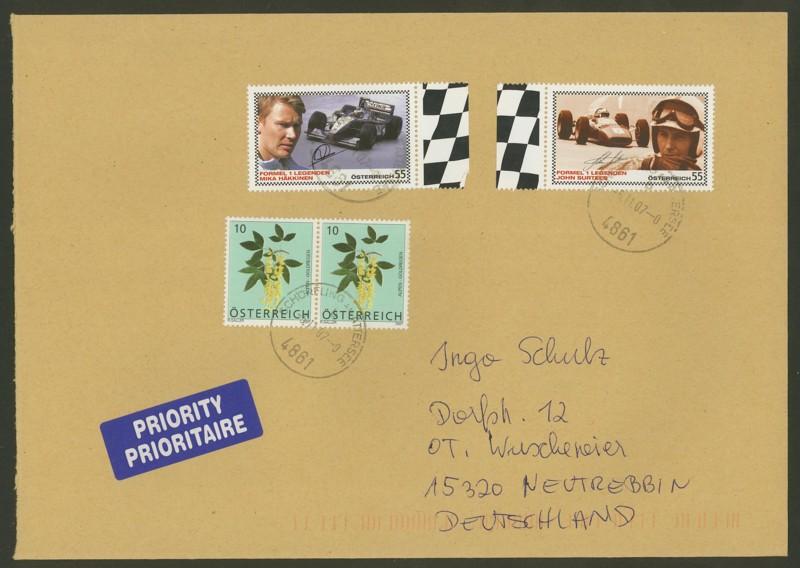 Österreich - Briefe an Cantus 2111