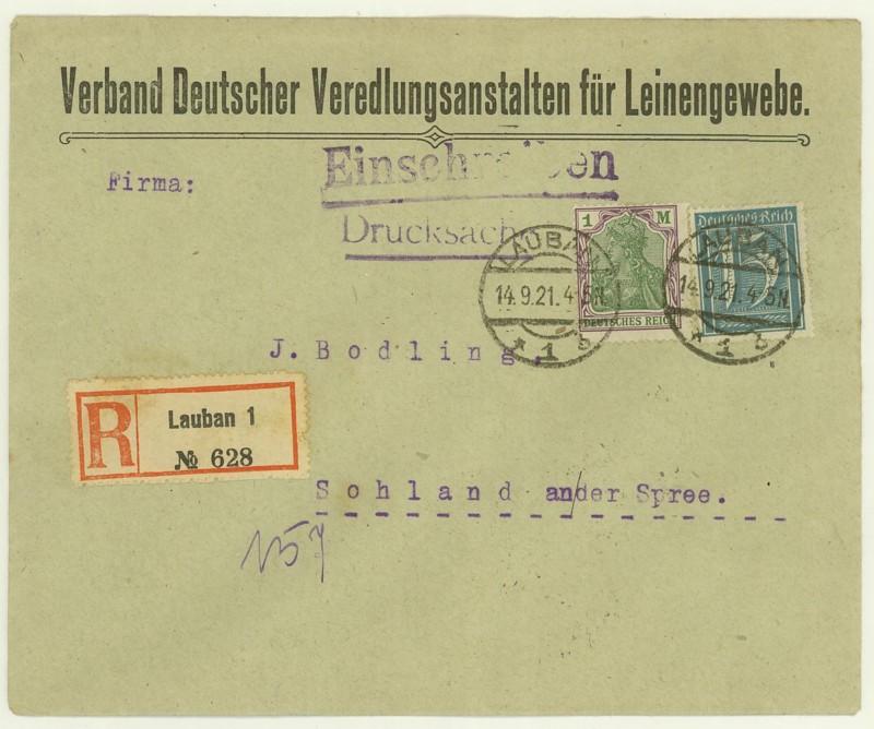 Reizvolle Briefe des Deutschen Reichs - Seite 2 213