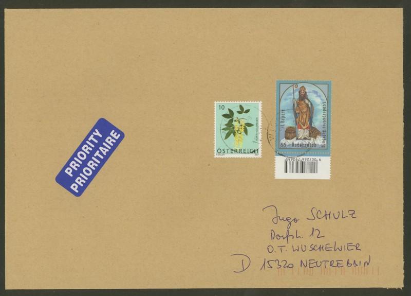 Österreich - Briefe an Cantus 2311