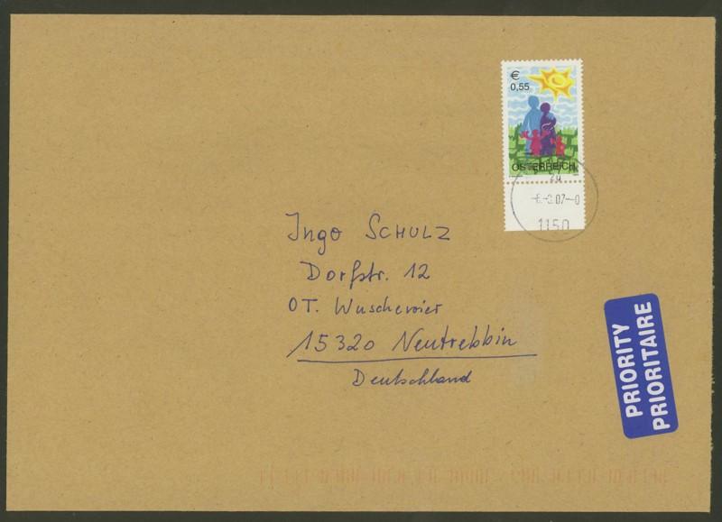 Österreich - Briefe an Cantus 2410