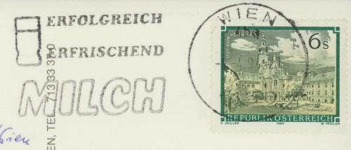 Maschinenwerbestempel von Österreich 25b10