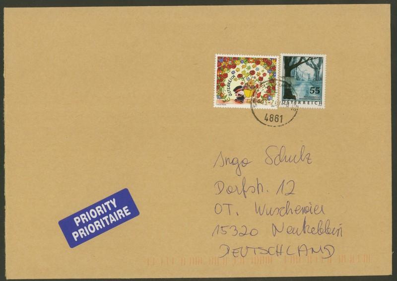 Österreich - Briefe an Cantus 2910