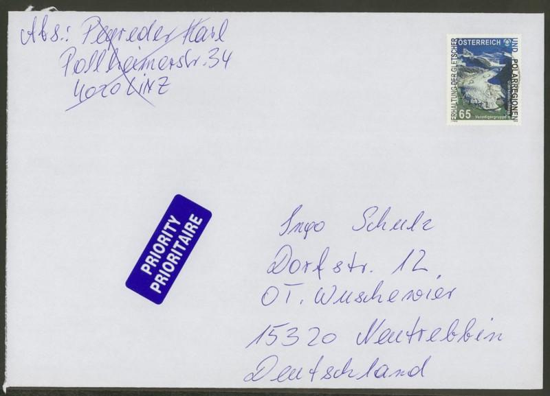 Österreich - Briefe an Cantus 3010