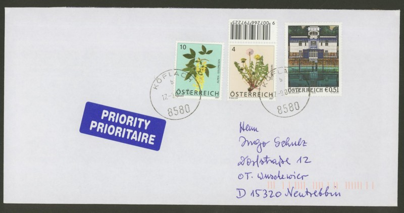 Österreich - Briefe an Cantus Ank_2410