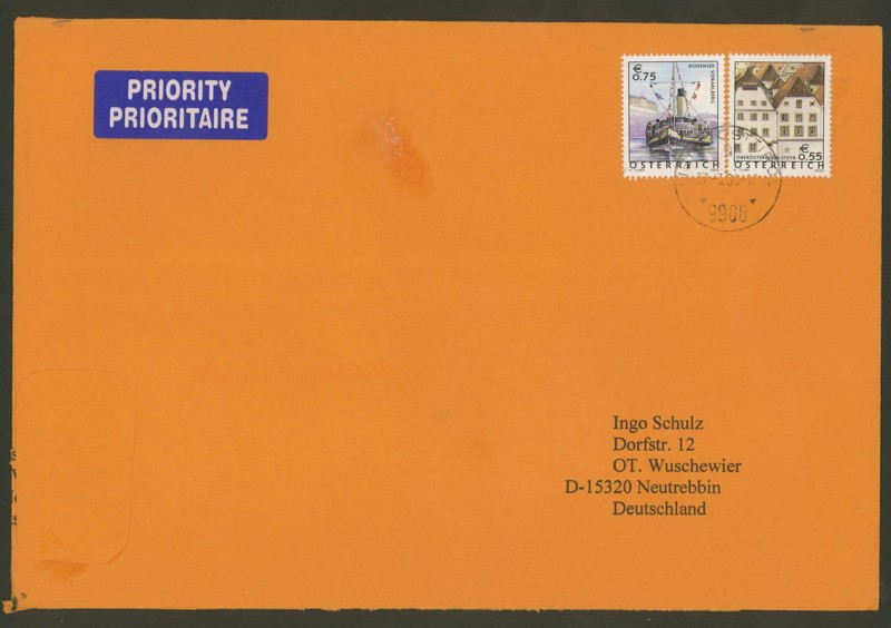 Österreich - Briefe an Cantus Ank_2416
