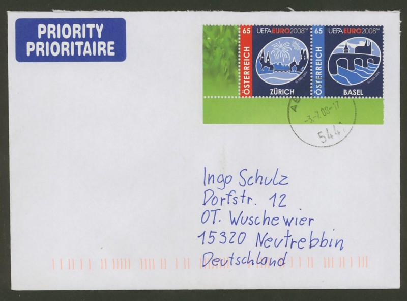 Österreich - Briefe an Cantus Ank_2714