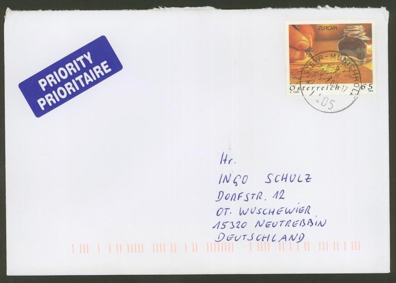 Österreich - Briefe an Cantus Ank_2722
