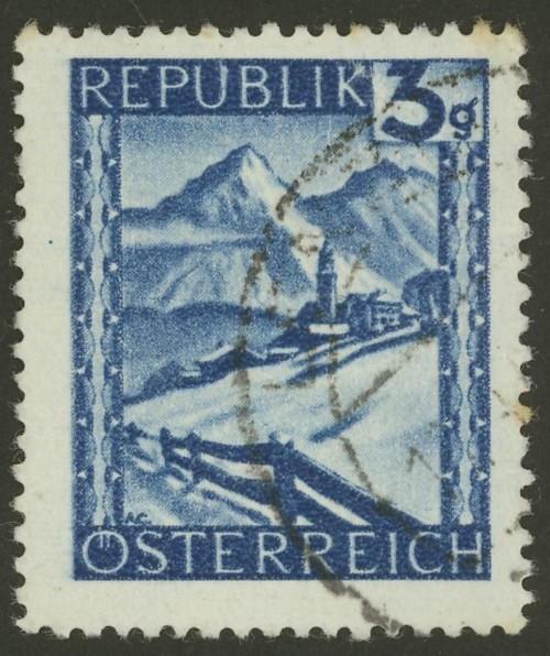 Briefmarken - Österreich, Briefmarken der Jahre 1945-1949 Ank_7310