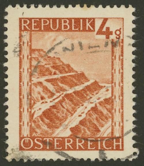 Briefmarken - Österreich, Briefmarken der Jahre 1945-1949 Ank_7311