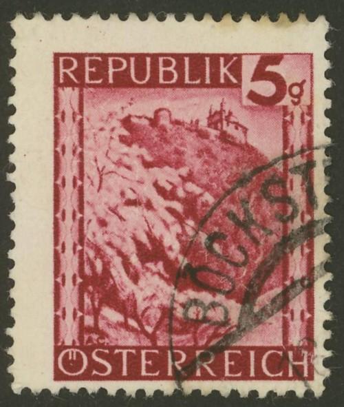 Briefmarken - Österreich, Briefmarken der Jahre 1945-1949 Ank_7410