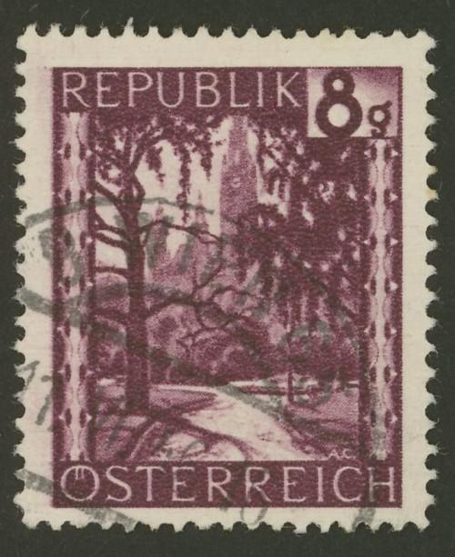 Briefmarken - Österreich, Briefmarken der Jahre 1945-1949 Ank_7413