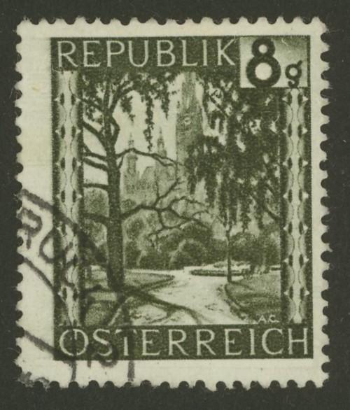 Briefmarken - Österreich, Briefmarken der Jahre 1945-1949 Ank_7414