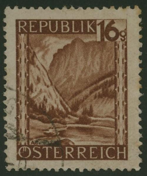 Briefmarken - Österreich, Briefmarken der Jahre 1945-1949 Ank_7419