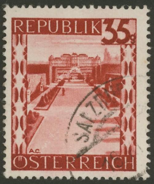 Briefmarken - Österreich, Briefmarken der Jahre 1945-1949 Ank_7515