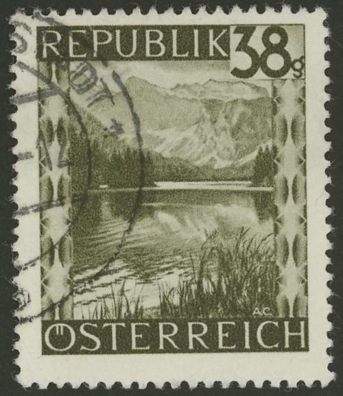 Briefmarken - Österreich, Briefmarken der Jahre 1945-1949 Ank_7516