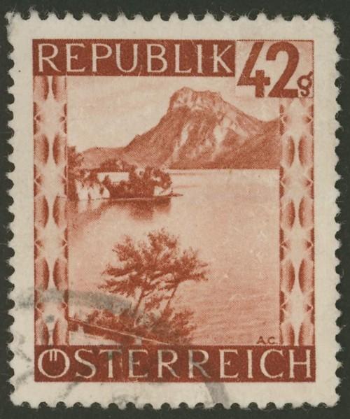 Briefmarken - Österreich, Briefmarken der Jahre 1945-1949 Ank_7518