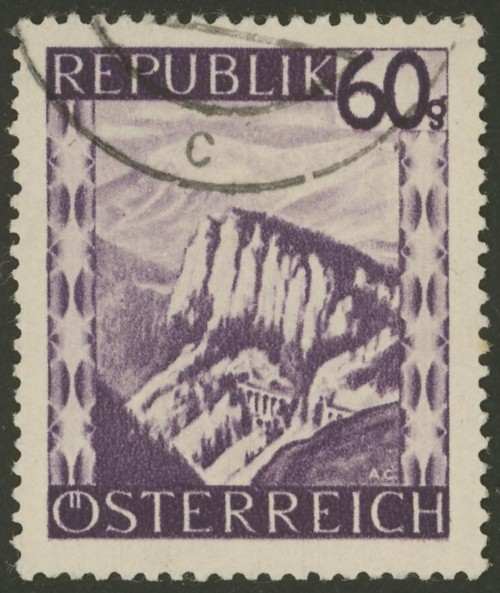 Briefmarken - Österreich, Briefmarken der Jahre 1945-1949 Ank_7612