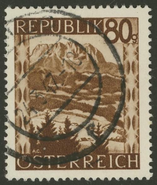 Briefmarken - Österreich, Briefmarken der Jahre 1945-1949 Ank_7615