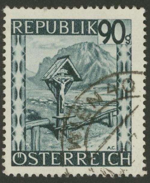 Briefmarken - Österreich, Briefmarken der Jahre 1945-1949 Ank_7616